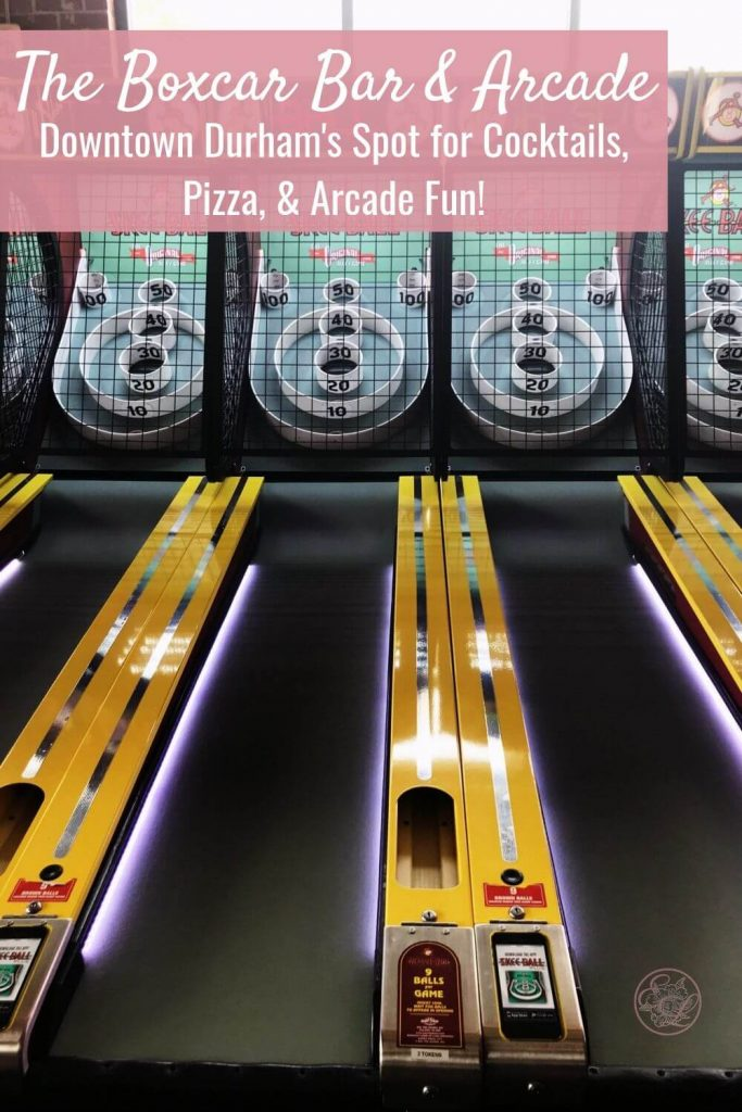 The Boxcar Bar and Arcade
