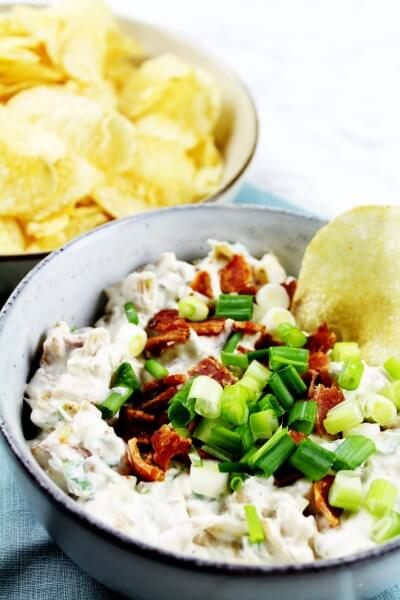 Bacon, Scallion, and Caramelized Onion Dip