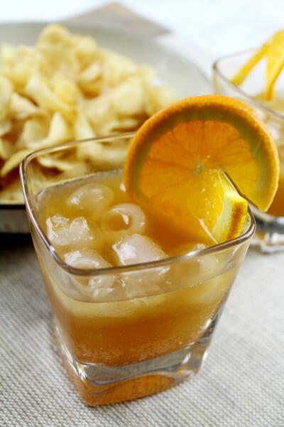 Pumpkin Bourbon Blitz
