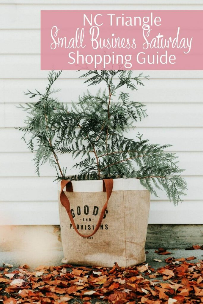 NC Triangle Small Business Saturday Shopping Guide