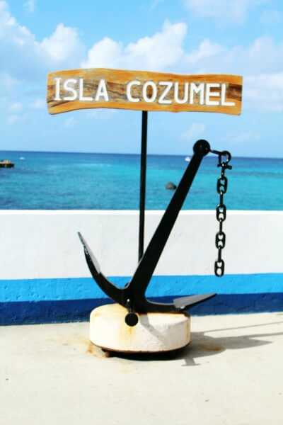 Lunch and Shopping in Cozumel