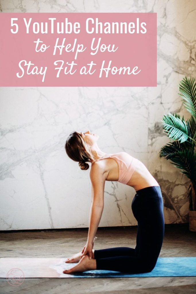 Five YouTube Channels to Help You Stay Fit at Home